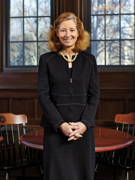 Marianne Short photographed at Boston College