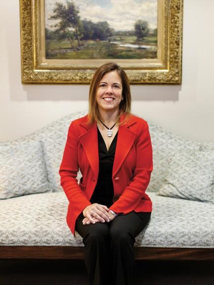 Brigida Benitez photographed at Steptoe & Johnson's Washington DC office