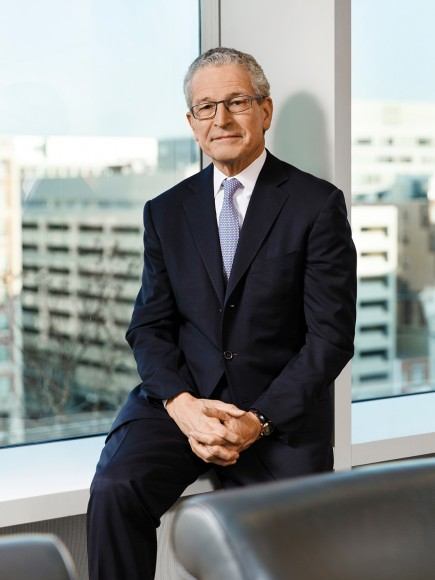 Mark Leddy photographed at Cleary Gottlieb's Washington DC office