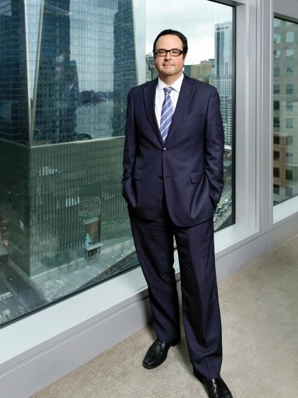 Michael Richman photographed at Goldman Sachs, NYC