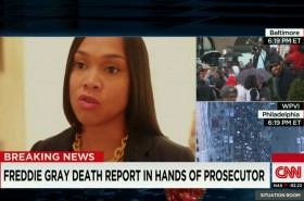 Baltimore State's Attorney Mosby '05 Announces Criminal Charges in Gray Death