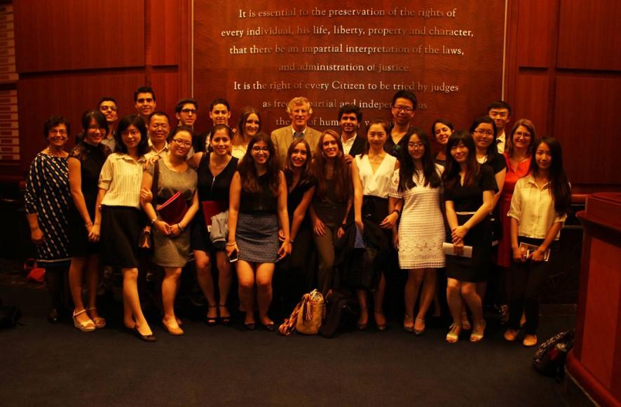Summer Institute visit to SJC