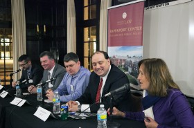 Alumni Debate Running for Office at Rappaport Event
