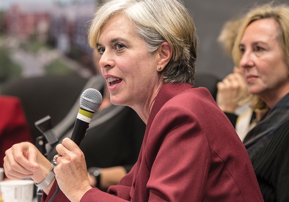 US Representative Katherine Clark