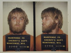 Mug shots of Steven Avery in 1985.