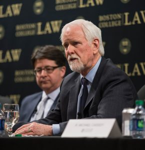 Walt Kelly at BC Law in 2016.