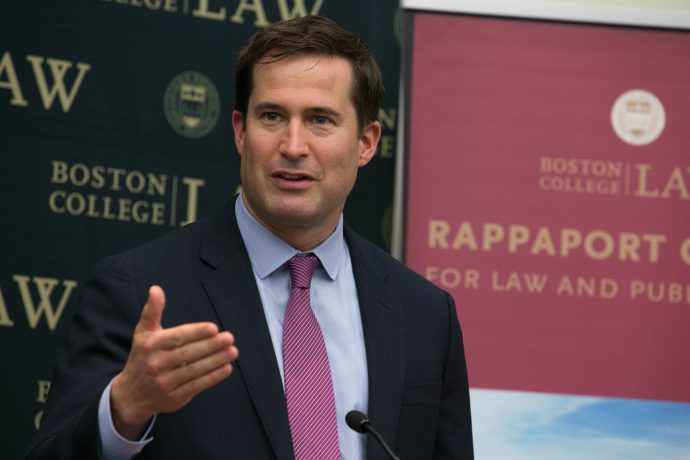 Photo/Reba Saldanha  Congressman Seth Moulton October 5, 2016.