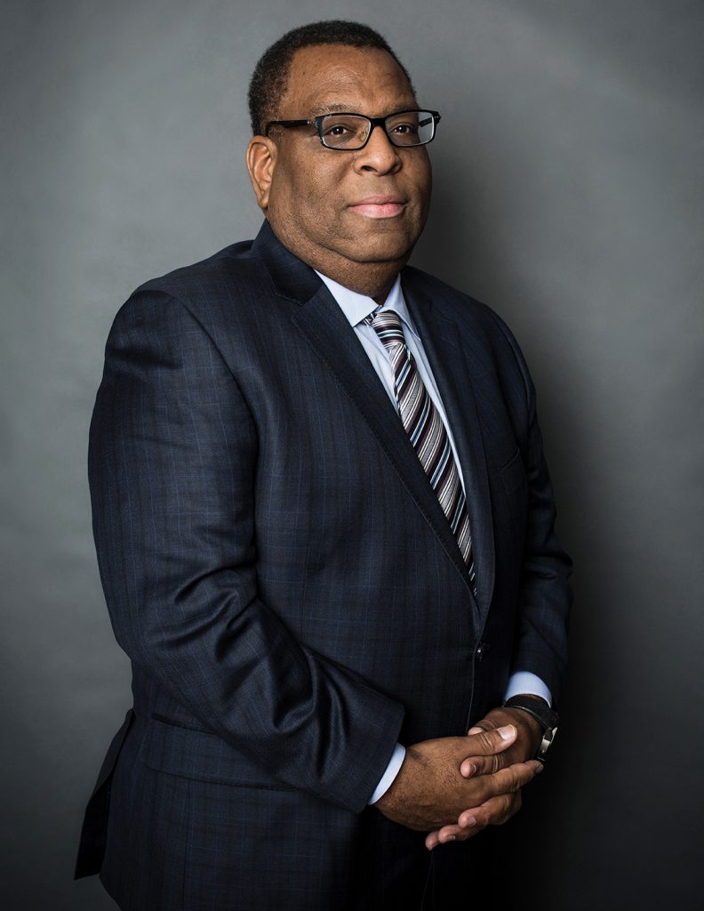 Marc Lampkin '91, a lobbyist and a managing partner with the firm Brownstein, Hyatt, Farber & Schreck.