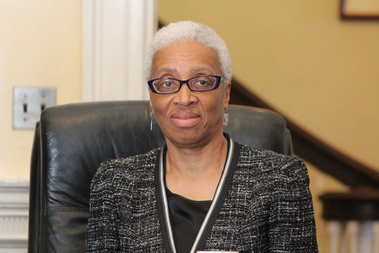 Judge Geraldine Hines, Gov. Patrick's nominee for a seat on the Appeals Court.
