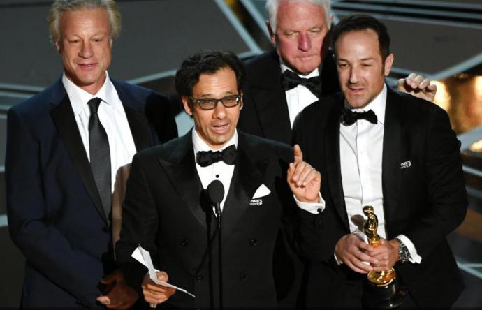 David Fialkow at Oscars