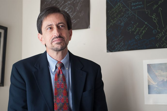 Frank Garcia, Professor, Law Faculty. Professor Frank Garcia, photographed on October 21, 2011.