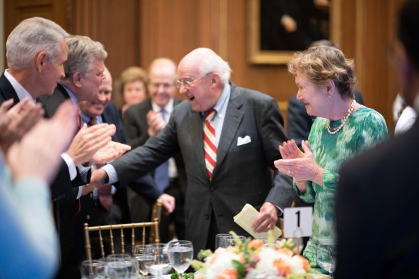Supreme Court Reception to Honor Dan Coquillette – Reception Hosted by Justice Gorsuch and Justice Roberts  Dan Coquillette: Standing Committee Reporter 1985 to 2018