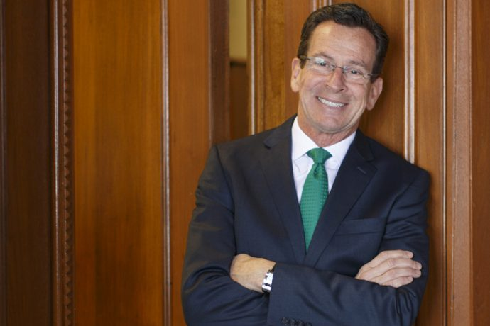 Governor Dannel Malloy photographed at CT Capitol building, Hartford, CT