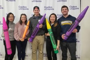 PILF Students Add Splash of Color to Kids' Lives