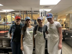 Volunteers at Women's Lunch Place