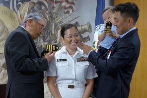 Kuroda '04 Makes Navy Commander