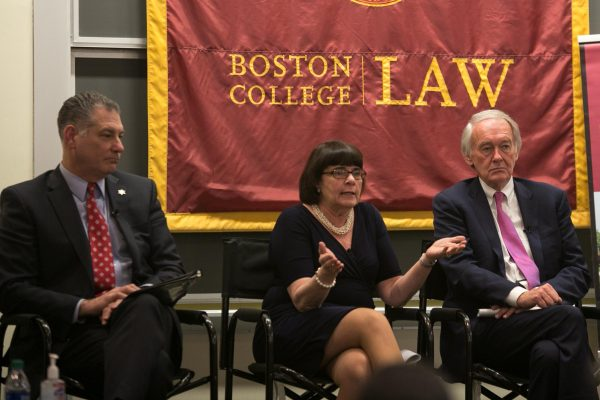 Photo/Reba Saldanha  Rappaport Center for Law and Public Policy at Boston College panel discussion on criminal justice March 09, 2020