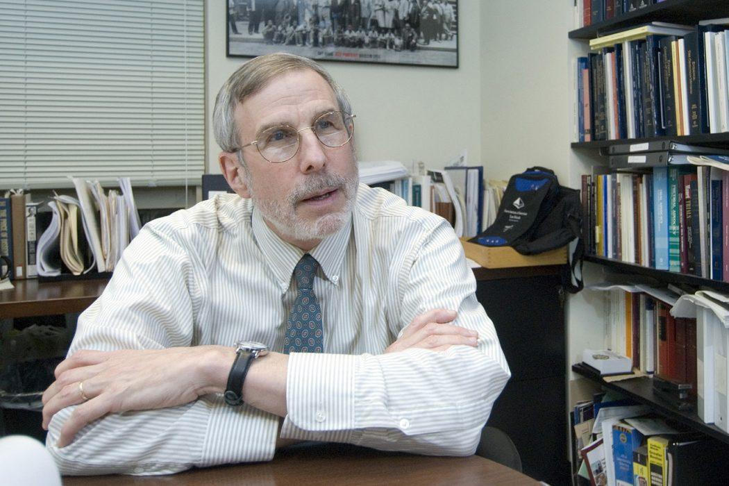 Professor Mark Brodin. Taken on November 29th 2011.