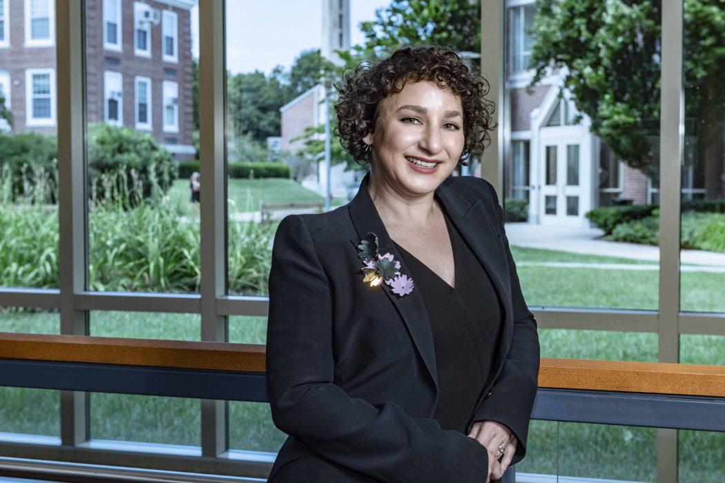 Hiba Hafiz, Professor at Boston College Law School. Photographed July 31, 2018.