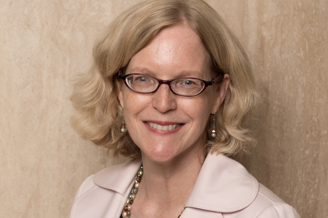 Picture of Professor Judy McMorrow taken on July 29th 2014.