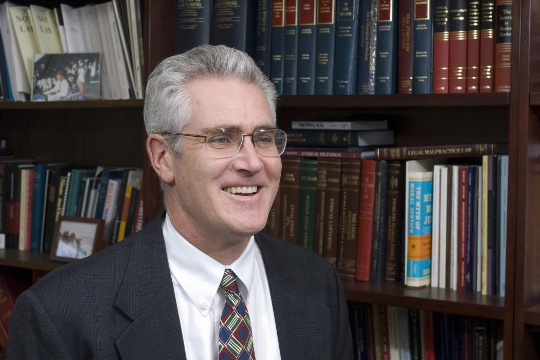 Professor R. Michael Cassidy. Taken on November 29th 2007.