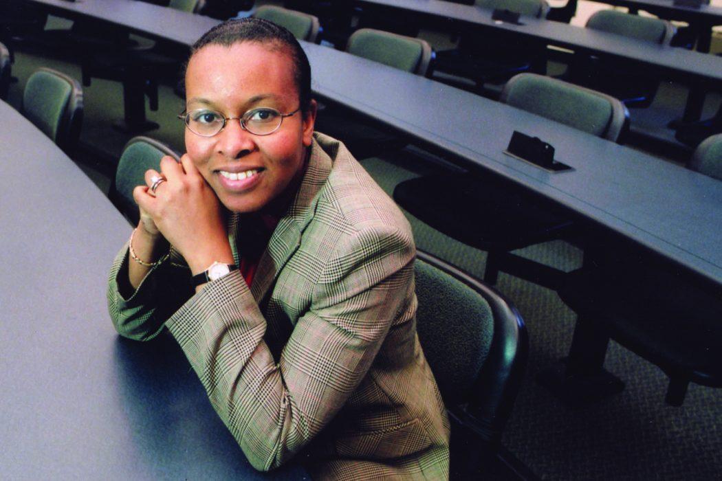 Picture of Professor Renee Jones taken on August 17th 2007.