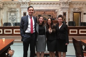 Third-Year Students Argue Cases Before Ninth Circuit in California
